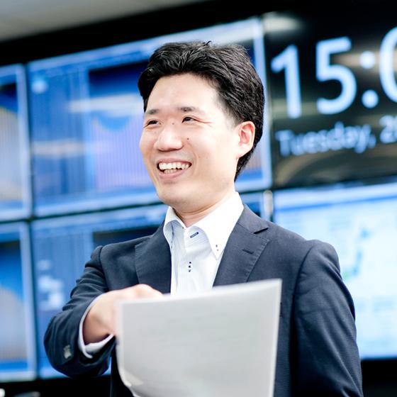 みんなが働きやすい業務手続の合理化・効率化を進める。